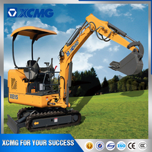 XCMG official XE15 manufacturer 1.5 ton new mini crawler excavator for sale