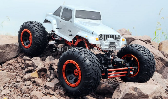 HSP 94880 1 / 8 Scale 2.4GH Brushless RC High Speed Off-road Truck Fast Car Model with Shock Absorber