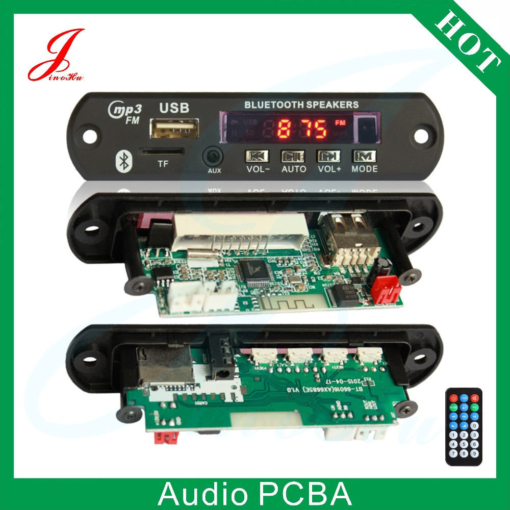 China Factory Price bluetooth audio system circuit board decoder <strong>mp3</strong> in car