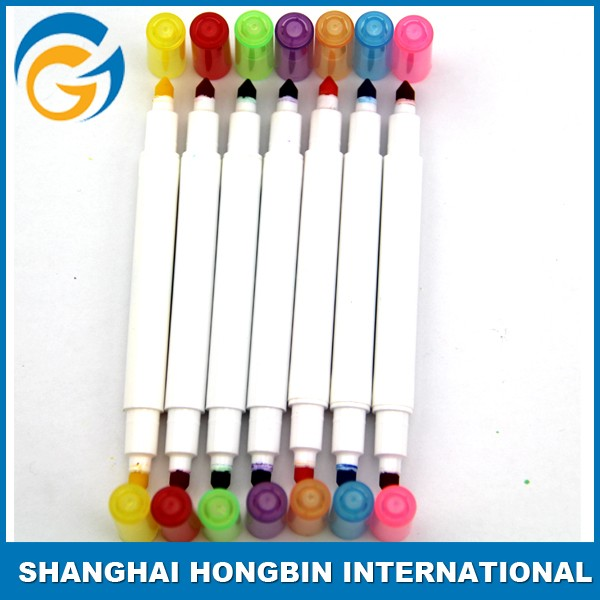 Popular High Quality Dual Tip Bright Pigment Permanent Markers