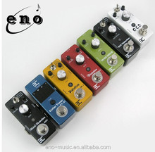 Wholesale electric Mini Guitar Distortion/Fuzz/Delay/Flanger/Chorus/Echo Effects Pedal