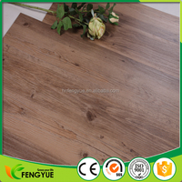PVC Floor Covering For Indoor Usage/ Natural Wood Looking Plastic Flooring