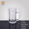 Glass beer glass with handle glass beer mugs wholesale non alcoholic malt beverage