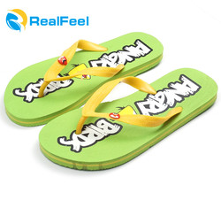Rubber sandals children nude beach walk flip flops slippers for child
