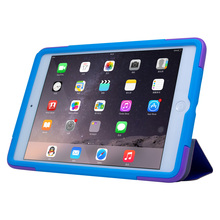 For iPad mini 3 stand case rugged duty leather case