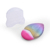 Meidao Personalized Creative Fashion Foundation Powder Glitter Brushes Makeup Tools Oval Heart Makeup Brush