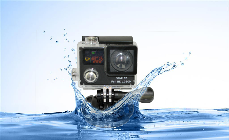 1080P waterproof bluetooth video camera for diving