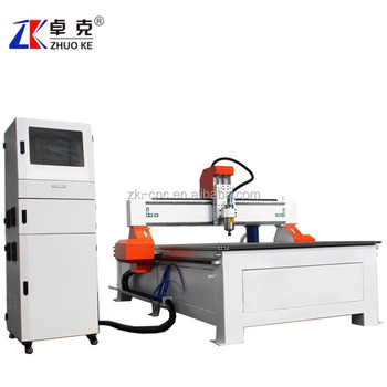 NcStudio controller wood mdf acrylic cnc router machine ZKM-1325 vacuum table