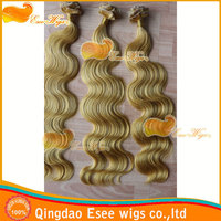 eseewigs qingdao factory wholesale 100% human hair queen weave beauty