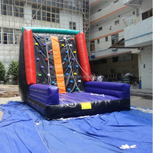Adult And Children Outdoor Air Rock Mountain Inflatable Climbing Walls