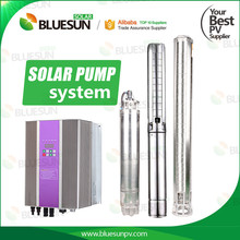 Bluesun solar pump solar dc water submersible pump 80m lift