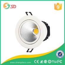 High Quality Hot Sale Anti-Glare 15W/20W/30W Dimmable Rectangular Recessed Led 12V Round Downlights Down Light