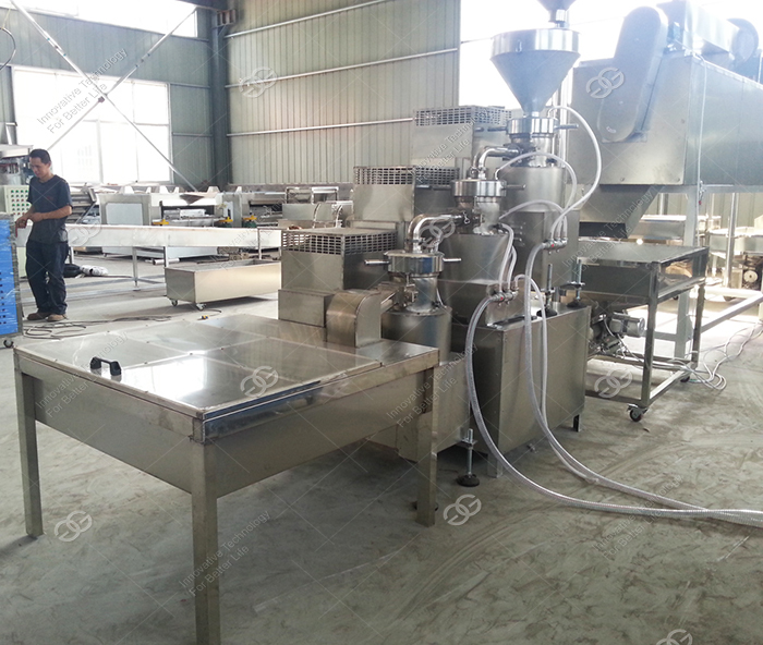 Sesame Roasting Machine Sesame seeds Cleaning Machine Sesame Seeds Grinding Machine