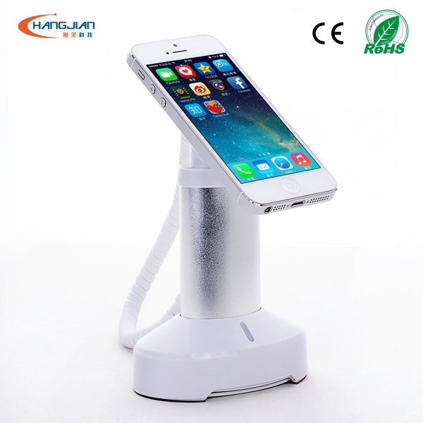 display cell phone holder for retail shop mobile phone security exhibition