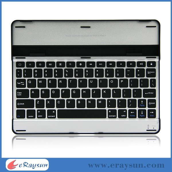 aluminum alloy bluetooth keyboard for ipad 4 3 2