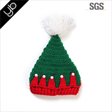 Hot selling hand knitting christmas baby winter hat