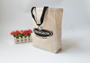 Fashion Style Organic Recyclable Shopping Canvas Tote Bag