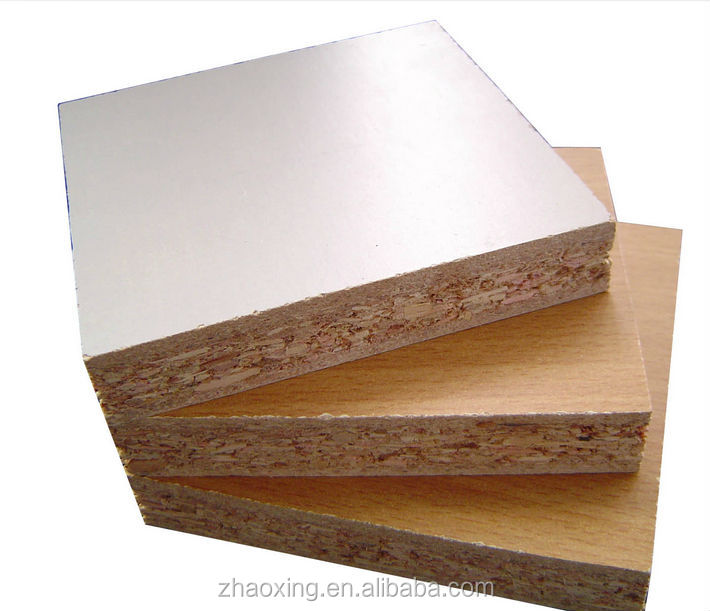 12mm 15mm 18mm chipboard E1 E2 melamine plain particle board
