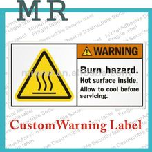 Burn Hazard Signs,All Printed Custom Warning Labels&Decals