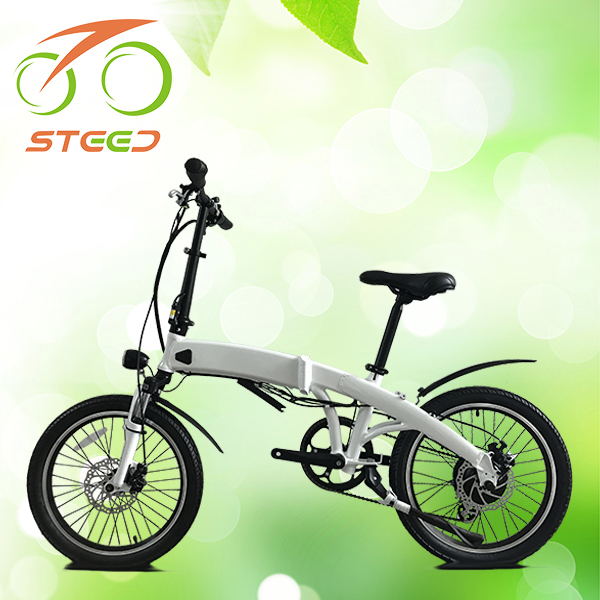 "factory big power cheap green city electric bicycle folding bike 20"" Li-ion battery CE EN15194"