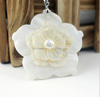 jewelry made from shells flower carved shell pendants