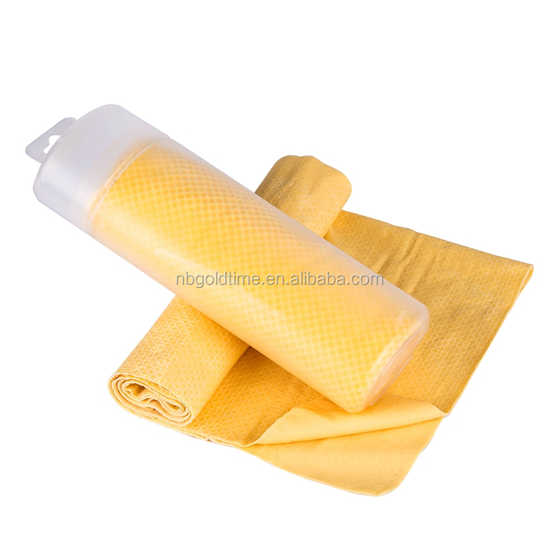 multi-purpose super absorbent snap PVA cooling towels for sports and fitness