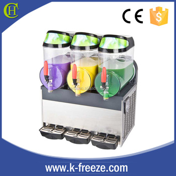 Newest hot selling high quality 3 bowl slush machine