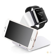 For Apple Watch Charger Dock USB Charging Adapter Aluminum Mobile Phone Universal Holder Stand For iPhone Samsung