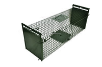 Large-Sized Animal Fox Cage Trap, Cat Trap Cage, Rodent Mouse Rat Trap Cage JL-2010A