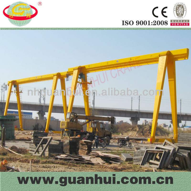 single girder gantry mini used crane for sale