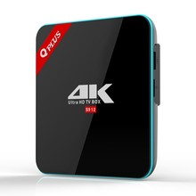 Full video download video mp4 2G/16G Q Plus Amlogic S912 Android 7.1 TV BOX Octa Core KODI Q-PLUS Smart Set Top Box