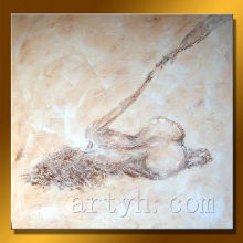 Newest Handmade Nude Oil Painting Art On Canvas For Decor