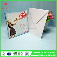 All occasion romantic music wedding greeting card factory