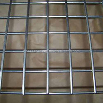 Factory hot selling galvanized welded wire mesh panel with competitive price