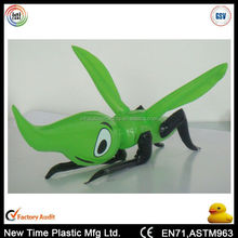 2015 new promotional pvc inflatable grasshopper