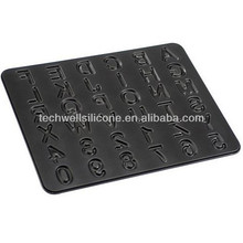 CM-756 non toxic silicone number candle mold