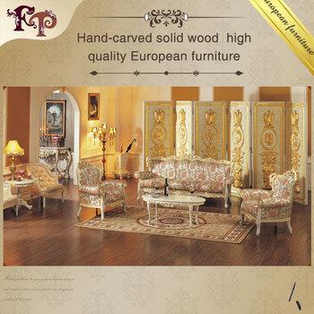 High end classic furniture sofa set living room for High end living room furniture