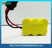 Hot sale 7.2v 700mah ni-cd rechargeable battery nicd battery aa with tab