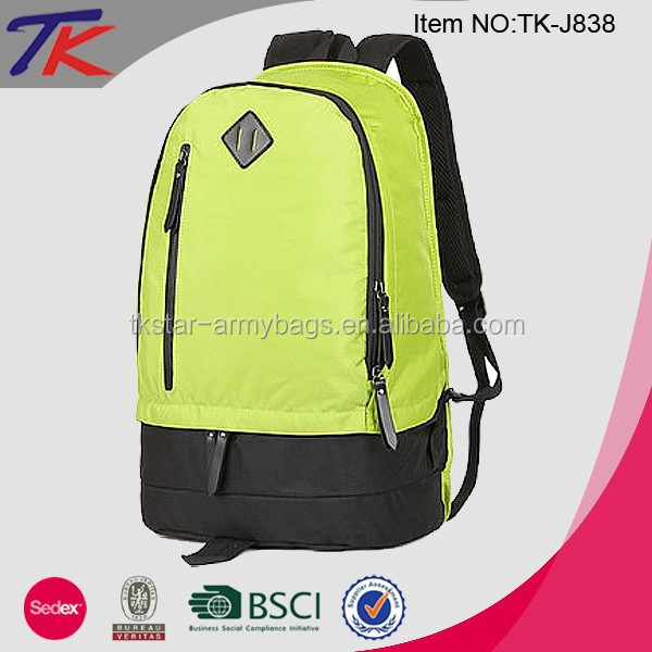Ergonomic Design School Bag Custom Backpack for Laptop
