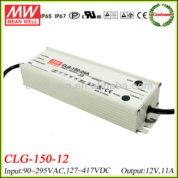 Meanwell CLG-150-12 132w led driver 12v 11a