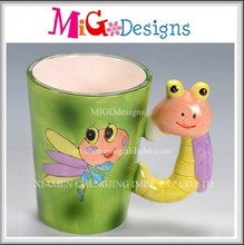 Direct Factory Produce Colorful Ceramic 3D Animal Mugs