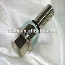 stainless steel/steel galvanized threaded fishtail bolt