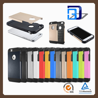2016 Original hybrid armor shockproof protective hard mobile phone cover hybird armor case for iPhone 6 6s 6s plus 5se