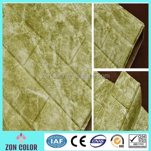 New Design self adhesive marble texture 3d wallpaper