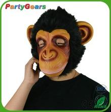 Wholesale Masquerade Costume Face Cosplay Gorilla Halloween Props Latex Mask