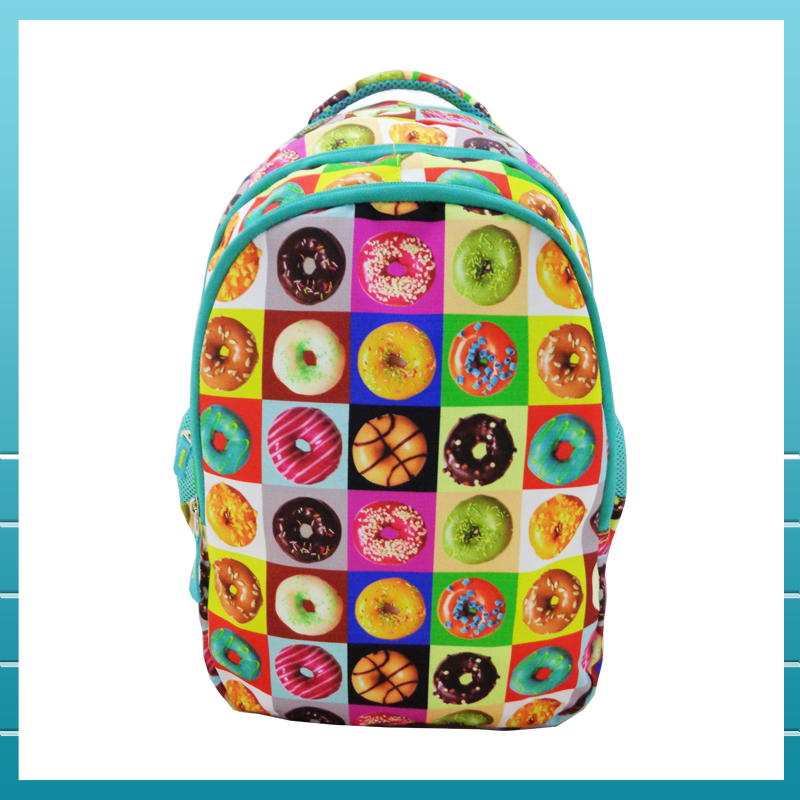 Polyester Material and Soft-loop Style Personalised Printed Drawstring Bag for Girls