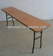 hotel plywood foldable table