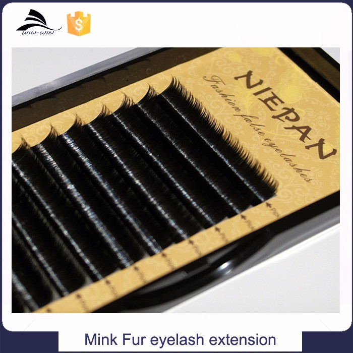 China female professional beauty 100% mink fur Eyelash extensions