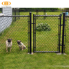 iron used chain link fence usa,iso 9001 factory temporary chain link fence,large chain link fence dog kennel