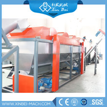 pp plastic recycling film washing line